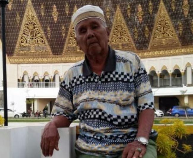 H Ibrahim Akey Pendiri dan Pencetus Kabupaten Pelalawan Wafat
