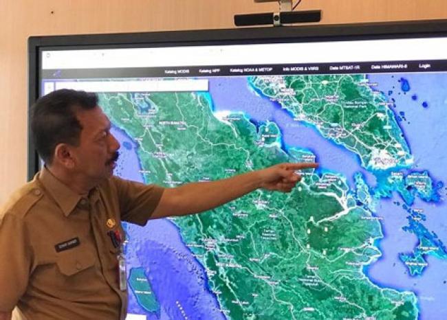 BPBD Riau Miliki Alat Canggih untuk Pantau Karhutla