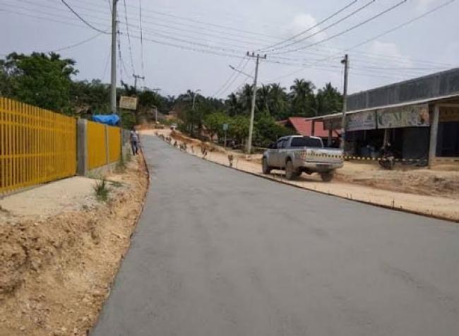 Pembangunan Jalan Badak Pekanbaru Dilanjutkan Tahun Ini