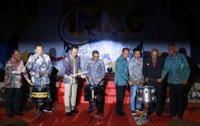 Riau Jadi Tuan Rumah Indonesia Marching Art Championship 2020