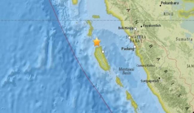 Gempa 6 SR Mentawai Akibat Aktivitas Subduksi Lempeng Indo-Australia
