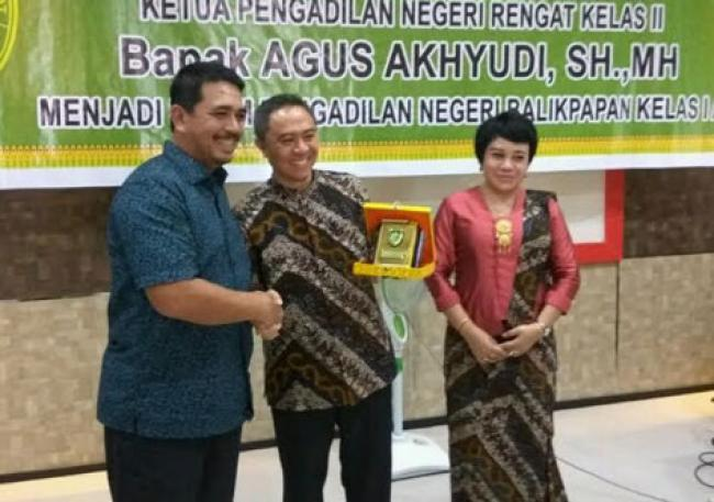 Darma Indo Damanik Ketua PN Rengat gantikan Agus Akhyudi Jadi Hakim PN Samarinda