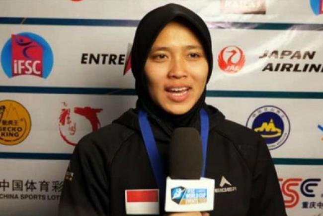 """5 Fakta Aries Susanti, """"Spiderman"""" Indonesia Juara Panjat Tebing Dunia"""