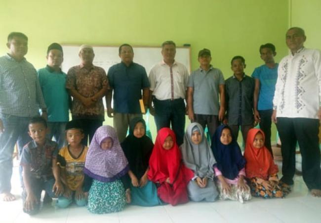 PT Tasma Puja Bangun Gedung PDTA Dan Santuni 438 Anak Yatim