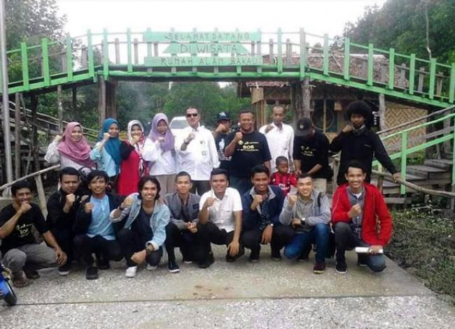 Kampung Rawa Mekar Jaya Siak, Jadi Tempat Wisata Alam Mangrove Terbaik