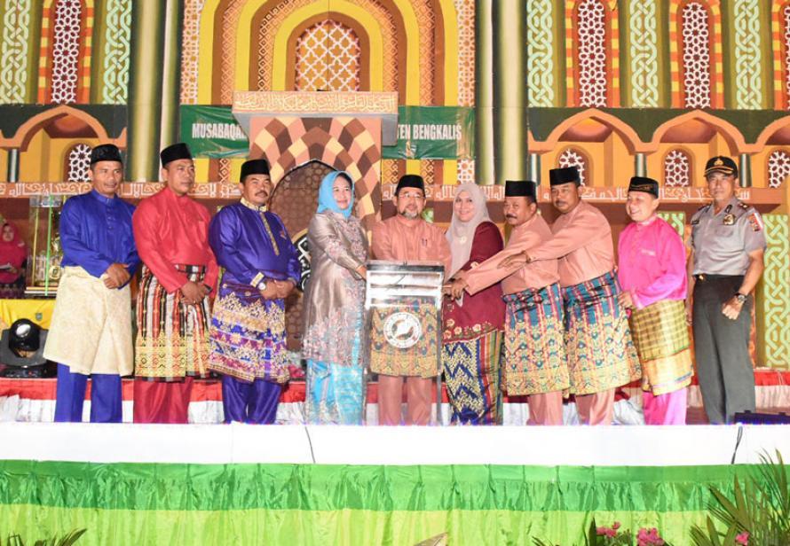 MTQ ke-43 Resmi Ditutup, 2019 Kecamatan Mandau Tuan Rumah MTQ ke-44