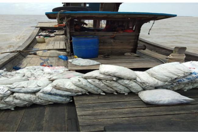 Pelaku Ilegal Fishing Asal Asahan Didor Sat Polair Polres Rohil, 1 Tewas, 2 Kritis