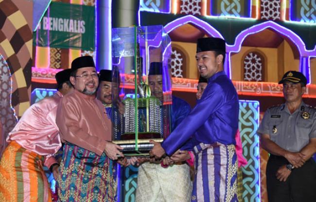 Kecamatan Bengkalis Kembali Raih Juara Umum di MTQ 43 Tingkat Kabupaten