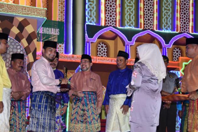 Mandau Kembali Juara 1 Pawai Taaruf MTQ Kabupaten Bengkalis