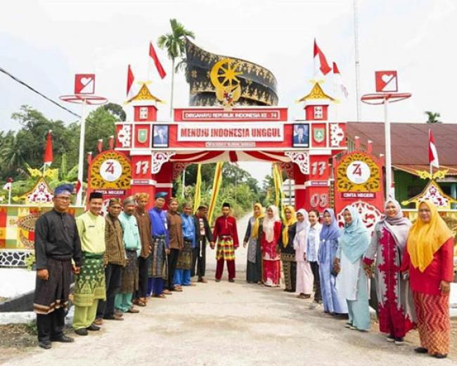 Selatbaru Peringkat Empat Nasional Festival Gapura Cinta Negeri 2019