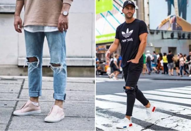 Pandangan Islam Mengenai Pria Salat dengan Celana Jeans Sobek-Sobek