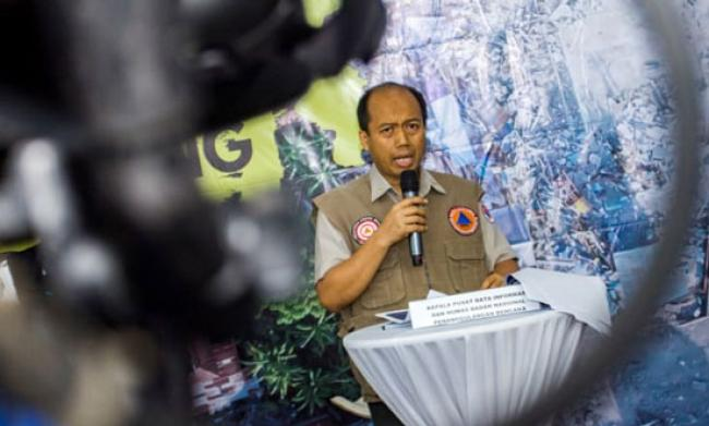 BNPB: Total 1.571 Tewas Akibat Bencana di Sulteng
