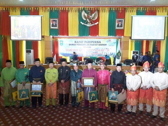 Azmi Pimpin Paripurna Istimewa Hari Jadi Kabupaten Siak Ke-20