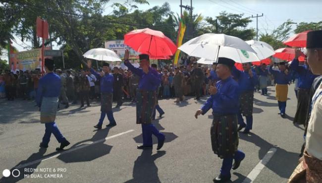 Semarakan MTQ XX XVIII Di Kampar, Rohil Terjunkan 347 Peserta Pawai Taaruf
