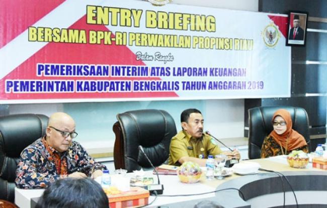 BPK RI Riau Akan Laksanakan Pemeriksaan Interim Laporan Keuangan Bengkalis 2019