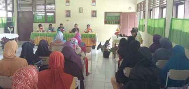 Terobosan UPTD Pendidikan KHS Kumpulkan Orangtua Murid