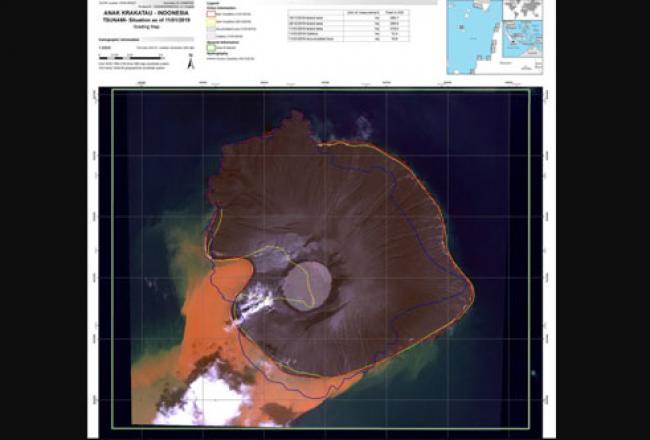 Mengulik Fenomena Air Berwarna Cokelat di Seputaran Anak Krakatau
