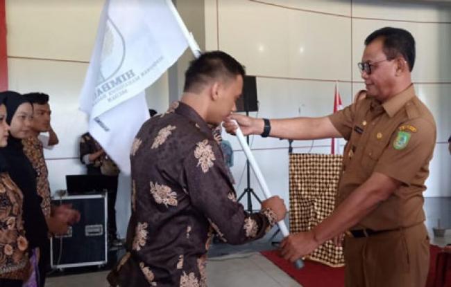 Hadiri Pelantikan Himbas Medan, Suyatno: 'Tuntutlah Ilmu Keluar, Tapi Bawa Kembali ke Rohil'
