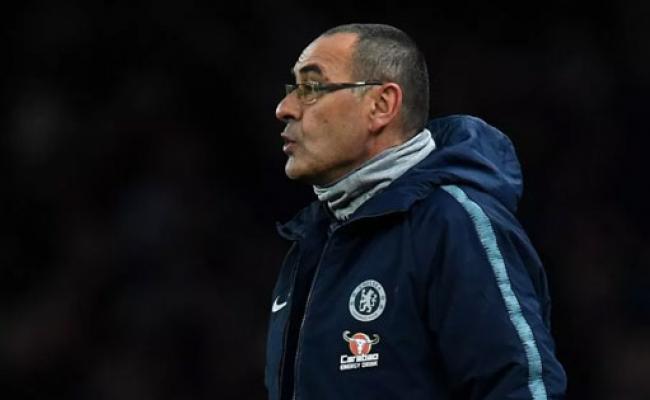 Sarri Marah Besar dengan Kekalahan Chelsea dari Arsenal