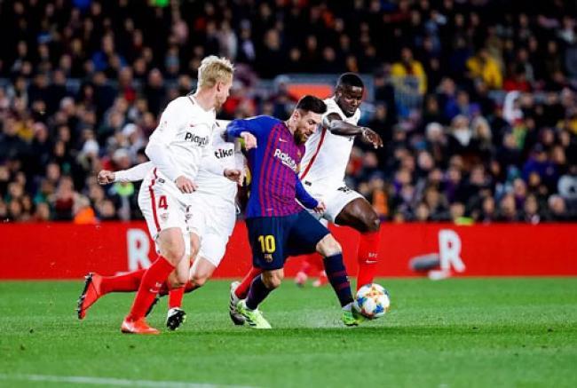 Barcelona Bikin Sevilla Putus Asa dengan Skor 6-1