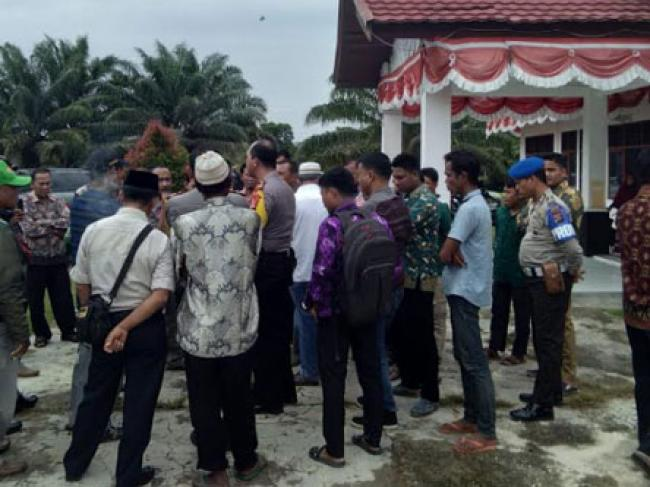 Rapat Pleno Panitia Pilkades Desa Bonai Rusuh