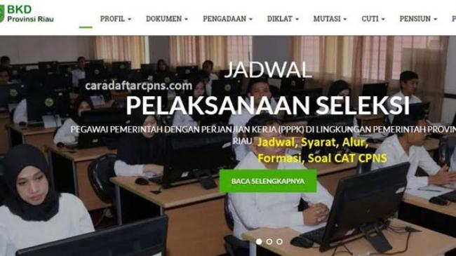 Persyaratan Ikut Ujian SKD CPNS Pemprov Riau