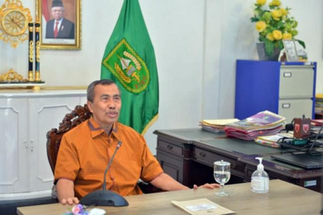 Gubri Hadiri Bedah Kampus UI Goes to Riau 2021