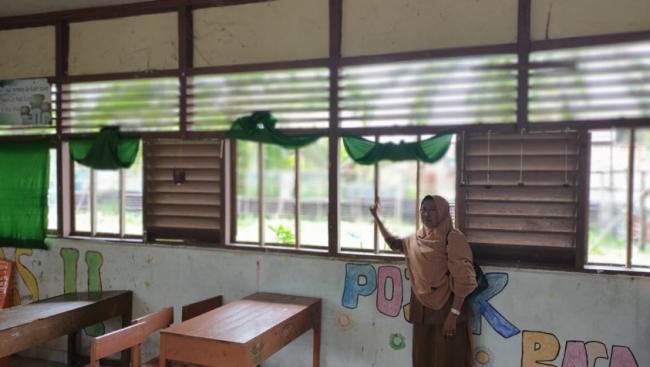 Sudah Tak Layak, SDN 001 Gunung Sahilan Butuh Rehab 9 RKB