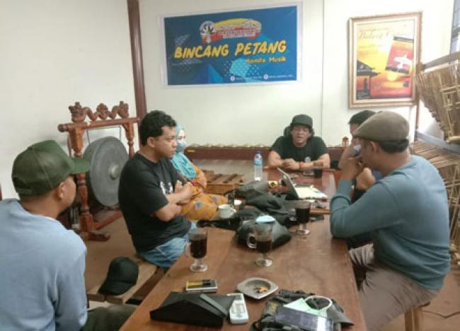 Ujung Sirih Music Community Minta DKR Fasilitasi Rekaman