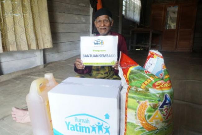 Getir Kehidupan Kakek Syafri Lansia 86 Tahun Yang Terus Berjuang