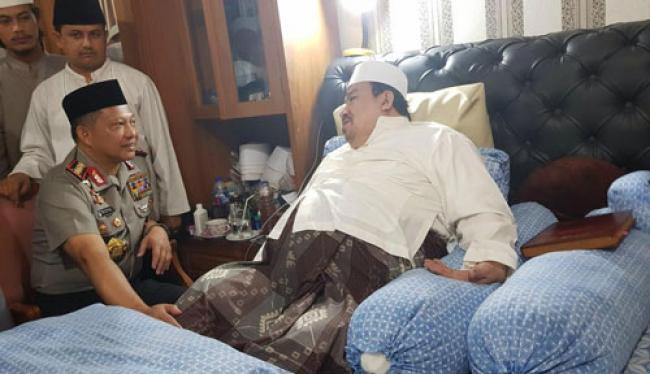 Guru Rizieq Shihab, Habib Ali bin Abdurrahman Assegaf Wafat