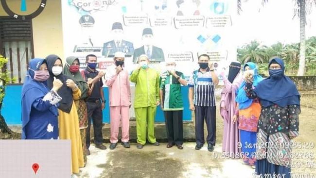 Tim Kesehatan Pantau Pelaksanaan Prokes, SDN 013 Sungai Tarap Telah Penuhi Edaran Disdikpora