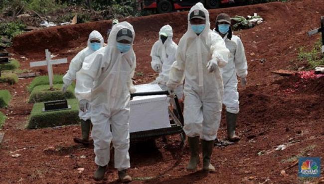 Ngeri! Kasus Kematian Cetak Rekor, Pasien Baru Tambah 10.047