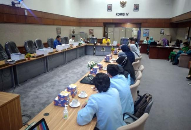 Bahas Berbagai Isu, Komisi IV DPRD Riau Apresiasi BEM UNRI