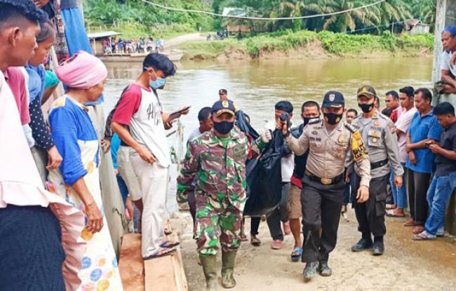 Akhir Pencarian di Sungai Batang Lubuh, Bocah Hanyut Ditemukan Tak Bernyawa