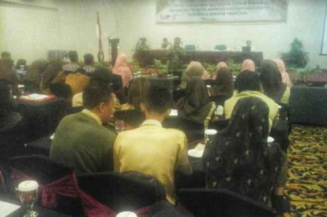 Tingkatkan Partisipasi Pemilih, Kesbangpol Pekanbaru Gelar Penyuluhan