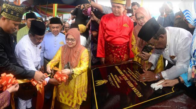 Gubernur Riau Resmikan Jembatan Siak IV dan Dua Flyover