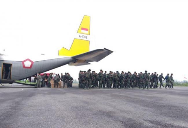 Mabes TNI Kerahkan 1 SSK Pasukan ke Pulau Rupat
