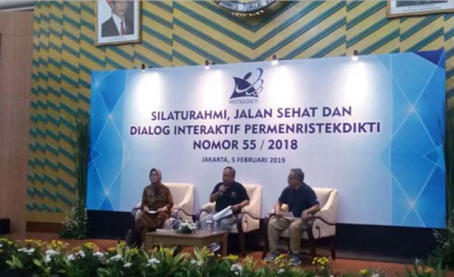 Menristekdikti: Kesiapan SNMPTN 2019 Sudah Berjalan Baik