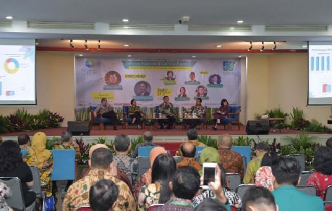 Dihadiri Wapres, Dirut Bank Riau Kepri Narasumber pada Seminar Perbanas
