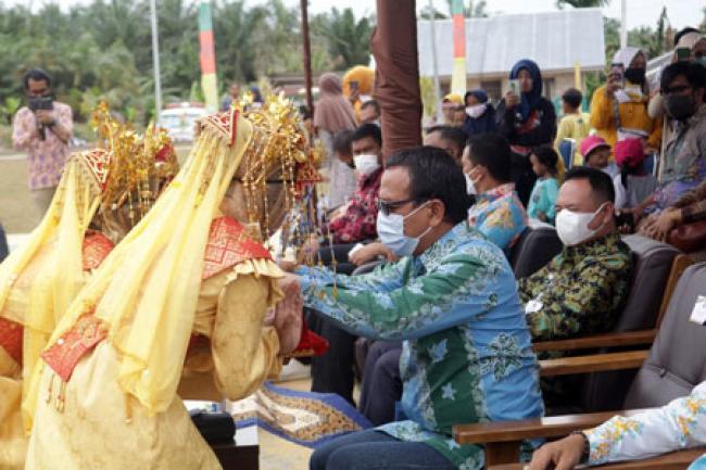 Kepala Balai Besar Regional Sumatera Dirjen Bina Pemdes Kunker ke Dayun