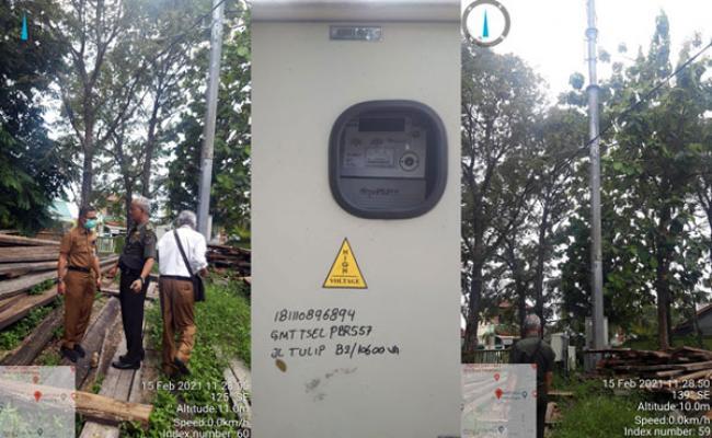 3 Tahun Berdiri, Pemilik Tower Telkom di Lingkungan Kantor DLHK Riau Jalan Tulip Diduga Belum Bayar Sewa Lahan
