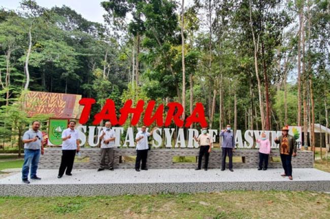 APHI Komda Riau Janji Promosikan Tahura Sultan Syarif Hasyim