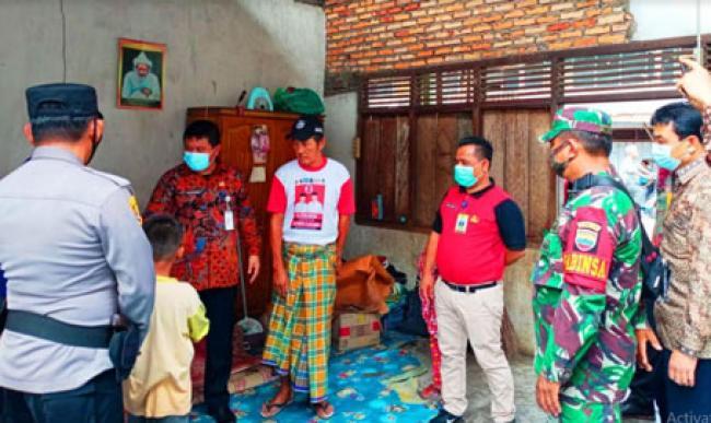 Pemkab Rohul Upayakan Bantu Korban Angin Puting Beliung di Kepenuhan
