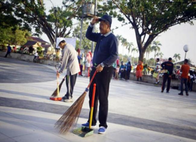Sempena Hari Peduli Sampah Nasional, Pemkab Siak Gelar Gerakan Peduli Sampah