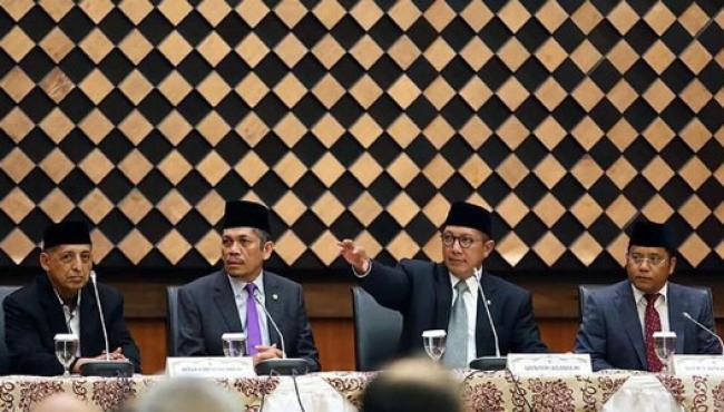 Menteri Agama Lukman Hakim & Ruang Kerja yang Diobok-obok KPK