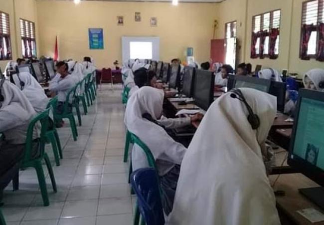 SMA Negeri 1 Kepenuhan Siap Laksanakan UNBK 2019