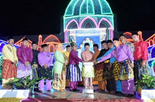 Bupati Amril Buka MTQ ke-II Tingkat Kecamatan Bandar Laksamana