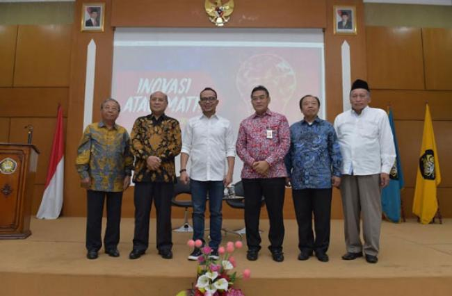 Dirut Bank Riau Kepri Narasumber Di Seminar Nasional Pascasarjana Universitas Pancasila