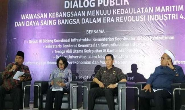 Pamer Program Jokowi, Ali Mochtar Ngabalin Diusir Mahasiswa UIN Sumut